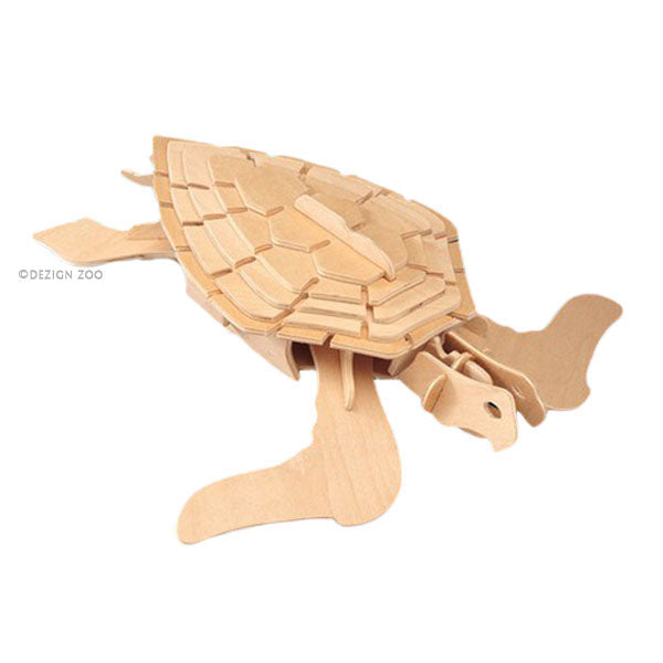 1223 Wooden Sea Turtle puzzle