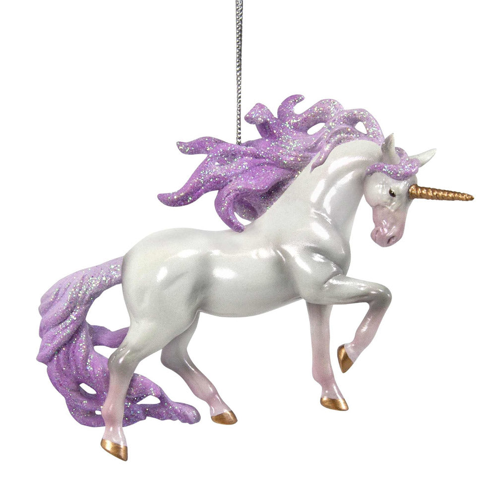 trail of painted ponies unicorn magic ornament