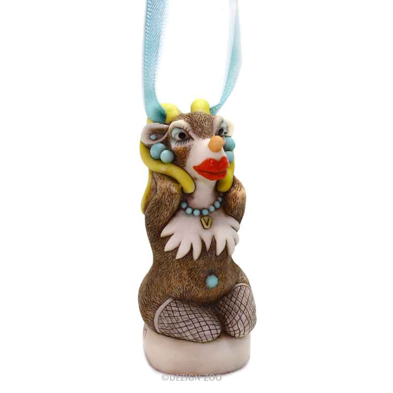 harmony kingdom vixen reindeer ornament tall view