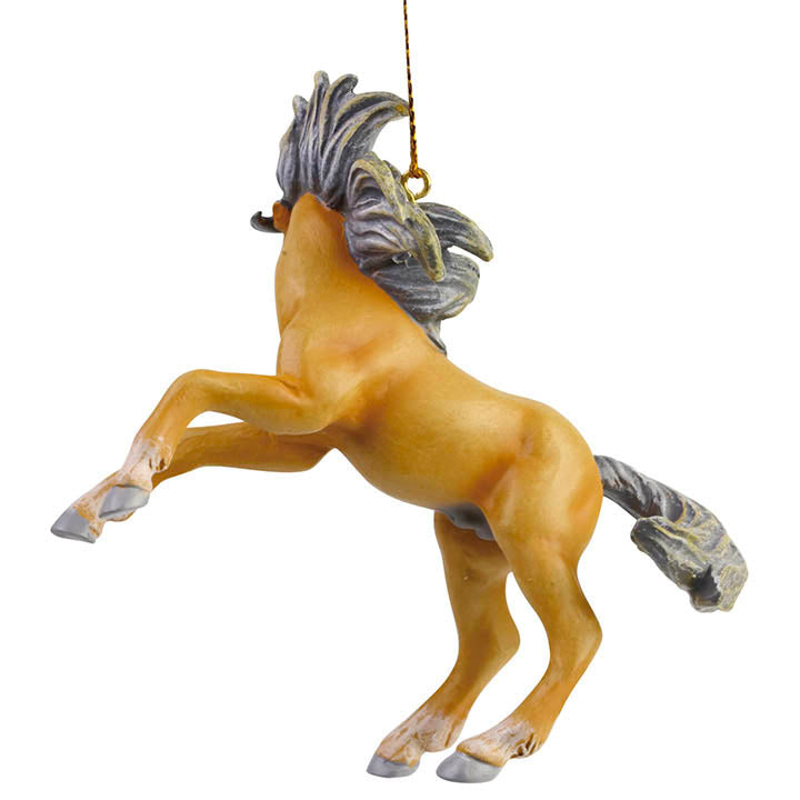 trail of painted ponies voodoo ornament left side view