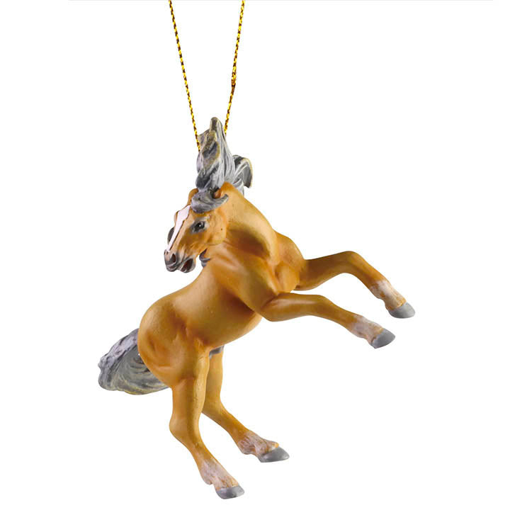 trail of painted ponies voodoo mustang horse ornament