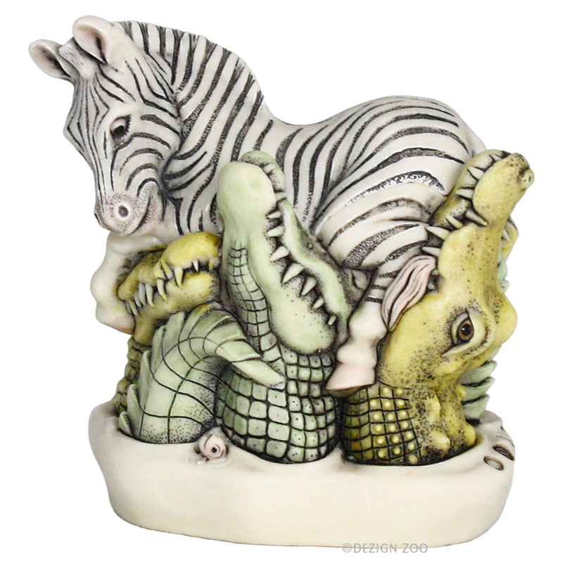 harmony kingdom zebra crossing treasure jest
