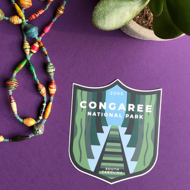 Congaree National Park Sticker