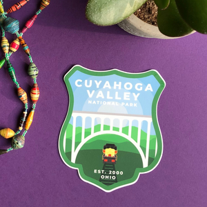 Cuyahoga Valley National Park Sticker
