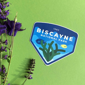 Biscayne National Park Sticker