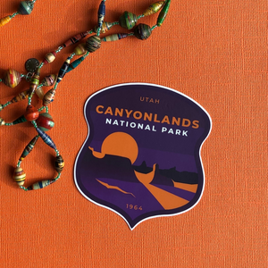 Canyonlands National Park Sticker