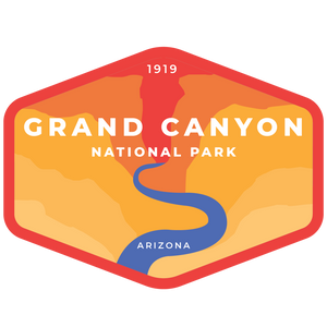 Grand Canyon Vinyl Sticker
