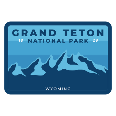 Grand Teton Vinyl Sticker