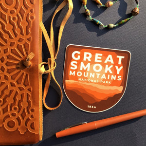 Great Smoky Mountains Vinyl Sticker