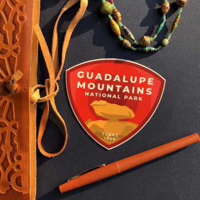 Guadalupe Mountains Vinyl Sticker