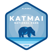 Katmai Vinyl Sticker