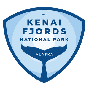 Kenai Fjords Vinyl Sticker