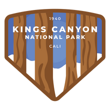 Kings Canyon Vinyl Sticker