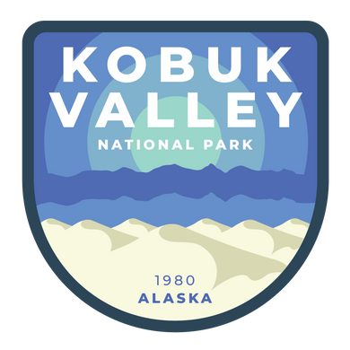 Kobuk Valley Vinyl Sticker