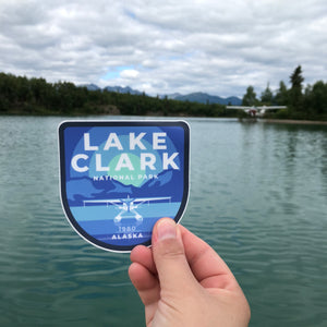 Lake Clark Vinyl Sticker