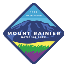 Mount Rainier Vinyl Sticker