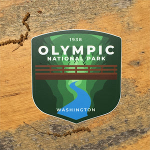 Olympic Vinyl Sticker