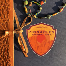 Pinnacles Vinyl Sticker