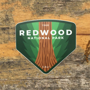Redwood Vinyl Sticker