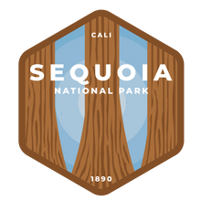 Sequoia Vinyl Sticker