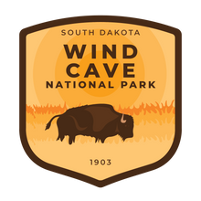 Wind Cave Vinyl Sticker