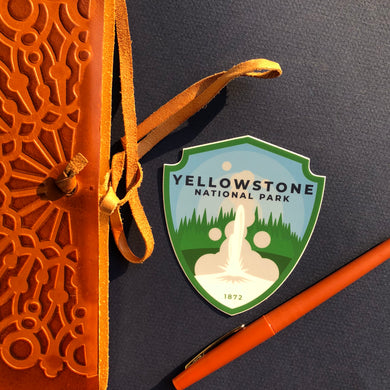 Yellowstone Vinyl Sticker