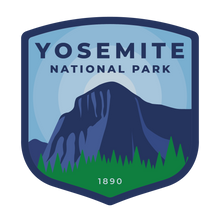 Yosemite Vinyl Sticker