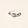 Bague Louise saphir et diamants