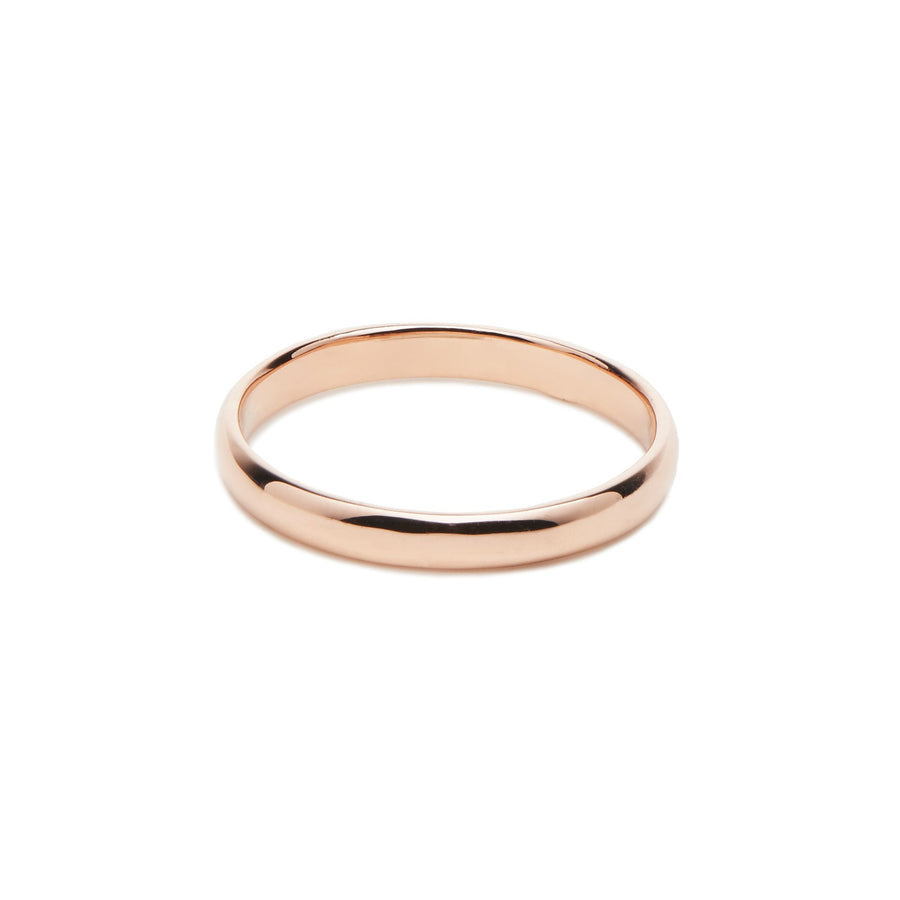 Alliance femme Bambou 2.5mm - Or rose 18 cts