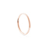 Alliance femme PALMIER - Or rose 18 cts
