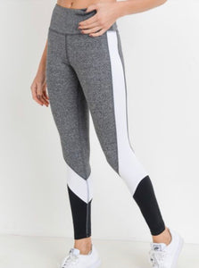 Color Block | High Waist Legging