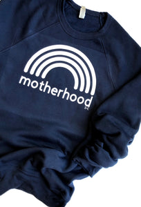 motherhood | Navy Crewneck Sweatshirt
