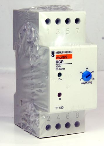 *New* Merlin Gerin Rcp Phase Presence Relay  21180 MULTI 9 400V 50-60HZ