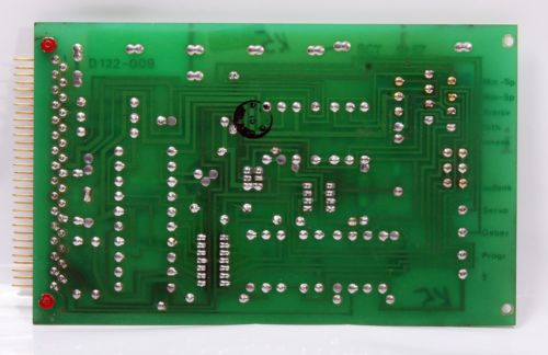 Moog Servo Amplifier Circuit Board D122-009