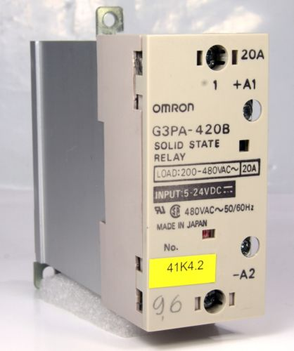 Omron Solid State Relay G3Pa-420B 20A