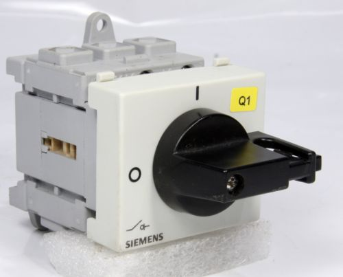 Siemens Cam Load Switch 3LD2230-0TK11-0AD7 DP0 3 Pole 32A 11.5kW 20Hp