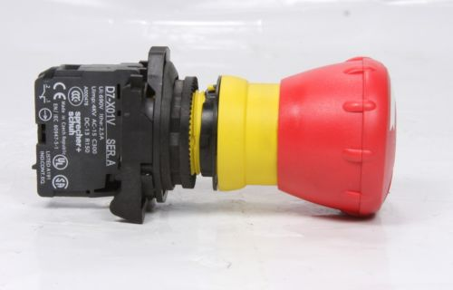 *New* Sprecher + Schuh  Emergency Stop Switch Red Push Button D7-X01V
