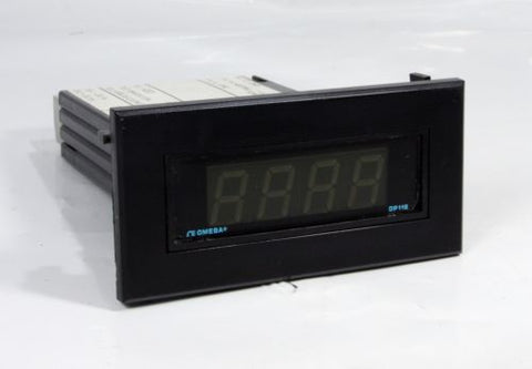 Omega Digit Mini Panel Meter Temperature Controller DP116-TC1 115V 50/60Hz