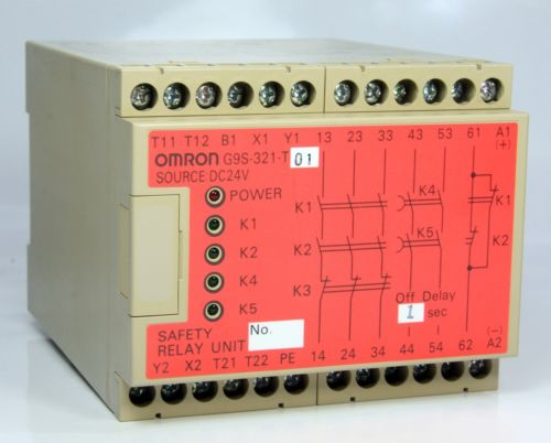Omron Safety Relay G9S-321-T01 24VDC