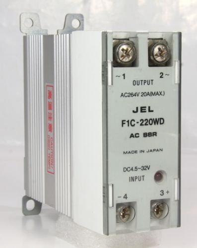 JEL Solid State Relay F1C-220WD