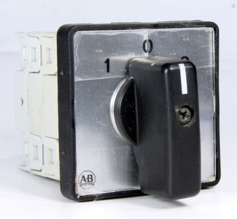 Allen Bradley 3-Position Rotary Cam Switch 194L-E12-* 12A 5.5kW 5Hp