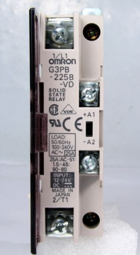Omron Solid State Relay G3Pb-225B 25A