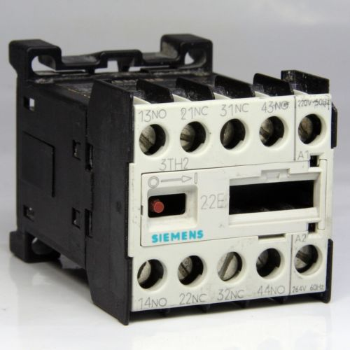 Siemens Contactor 3Th2022-0Am0 10A 220V 1.5Kw