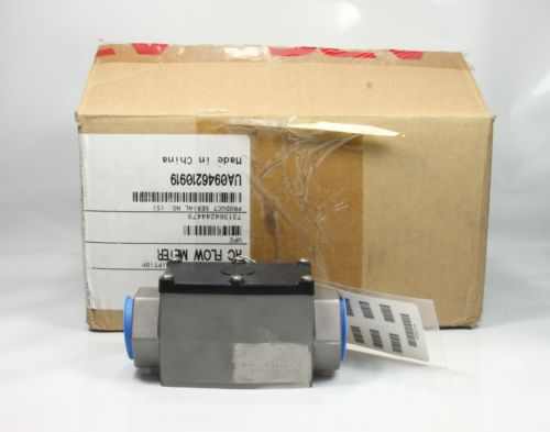 *New In Box* APC Schneider Electric 1'' Rc Flow Meter W875-4018 UA0946210919