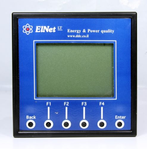 Energy & Power Quality Power Factor Controller Powermeter Panel Mounted EINET LT