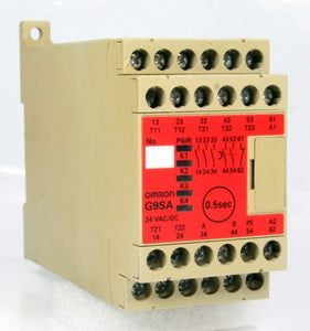 Omron Safety Relay Unit G9SA-321-T075-F 250VAC 50/60 HZ