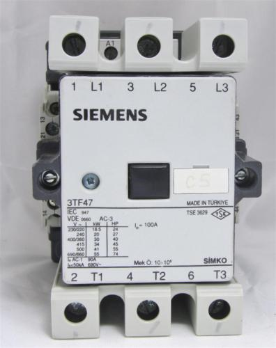 SIEMENS Contactor 3TF4722-0AP0 90A 230V 55kW 74HP