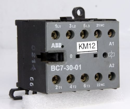 ABB Contactor BC7-30-01 16A 24V DC 5.5kW 5HP