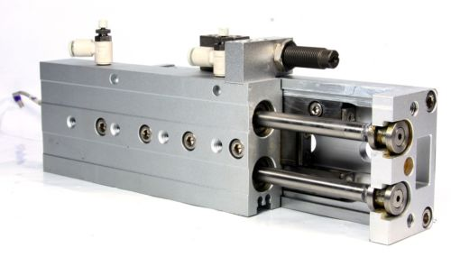Smc Slide Table, Shock Absorb Guided Cylinder MXS16-75B MXS/MXJ