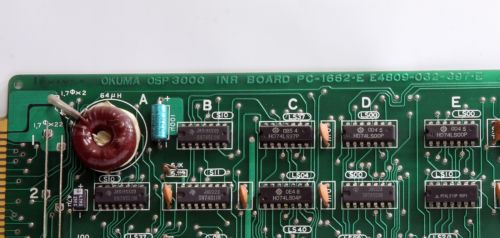 Okuma Circuit Board Pcb E4809-032-397-E OSP3000 INR Board PC-1662-E